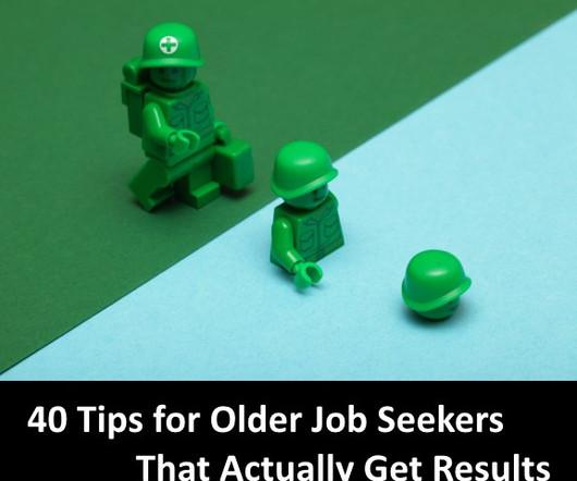 resume for older job seekers