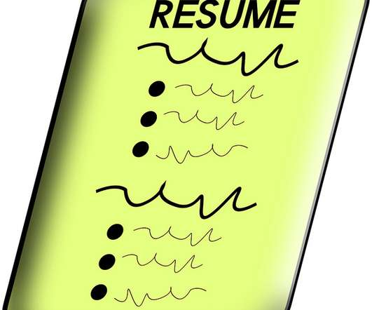 improve your resume with stronger accomplishments
