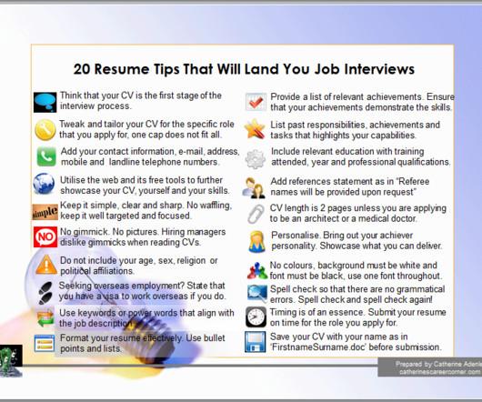 Curriculum Vitae - Career Digital