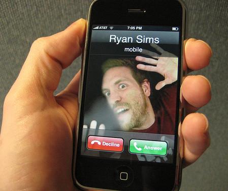 Как на айфоне сделать абонента на весь экран на айфоне